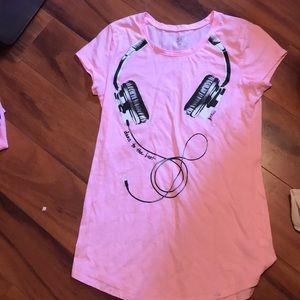 Pink Justice top